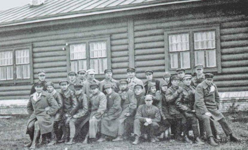 Советские военлеты, подготовленные в Липецке.