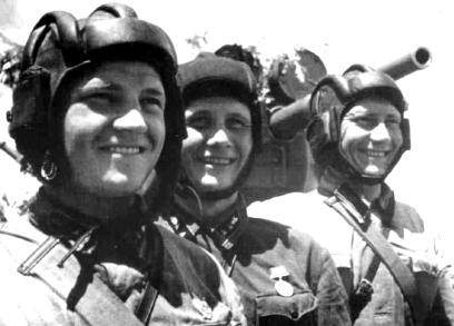 Советские танкисты. 1938 г.