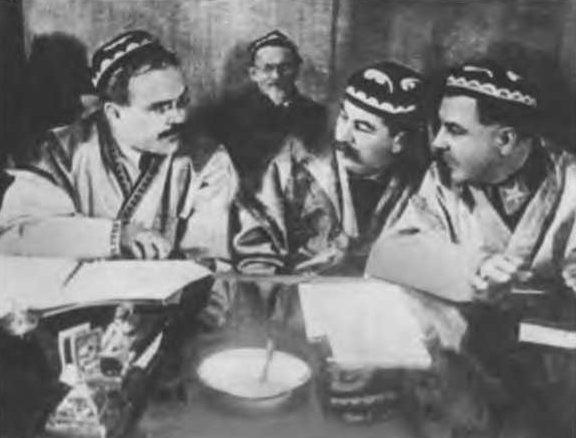 Дни Таджикистана в Москве. 1937 г.