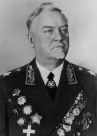 Маршал Советского Союза Булганин. 1947 г.