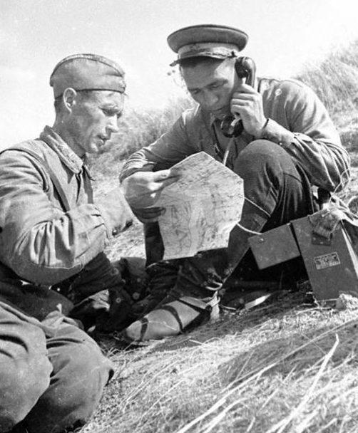 Советские связисты. 1938 г.