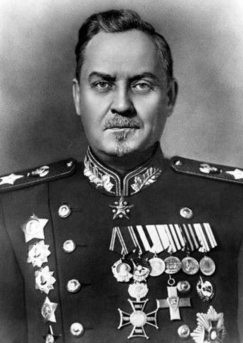 Маршал Советского Союза Булганин. 1948 г.