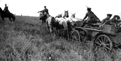 Кавалерийская пулеметная тачанка. 1938 г.