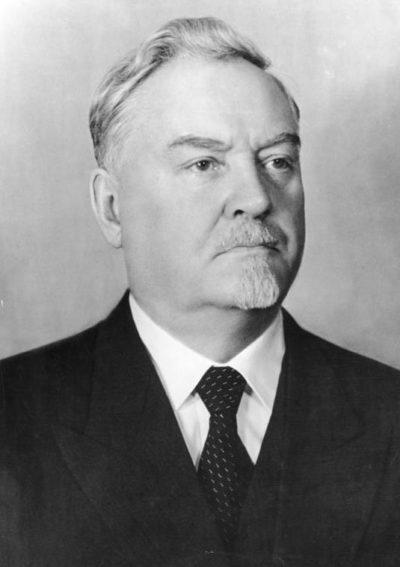 Булганин. Январь 1955 г.