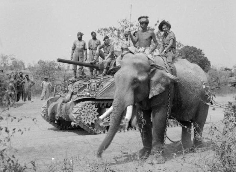 Индия. 1944 г.