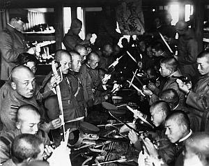 Японский полевой лагерь. 1939 г.