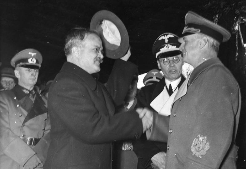 Молотов в Берлине. Ноябрь 1940 г.
