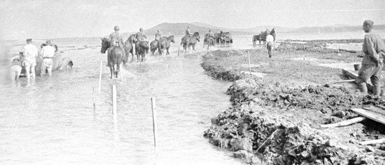 Советские войска перед контрударом. 1938 г.