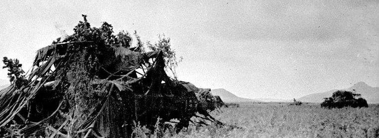 Замаскированные советские танки Т-26. 1938 г.