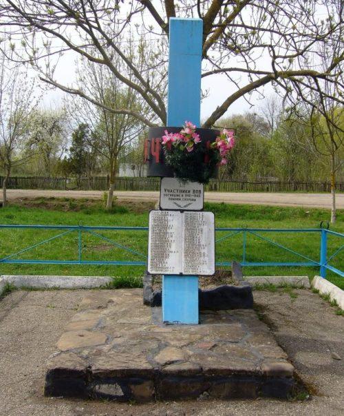 х. Первомайский Абинского р-на. Памятник погибшим воинам в годы войны.