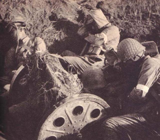 Позиция японской батареи. 1939 г.