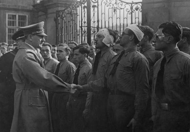 Гитлер в Праге. 15 марта 1939 г.
