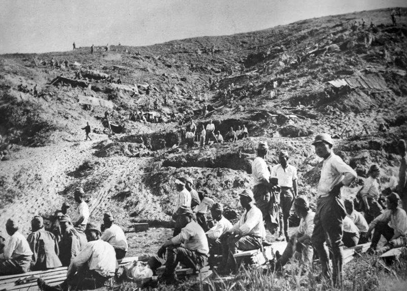 Японские солдаты во время перемирия. 1938 г.