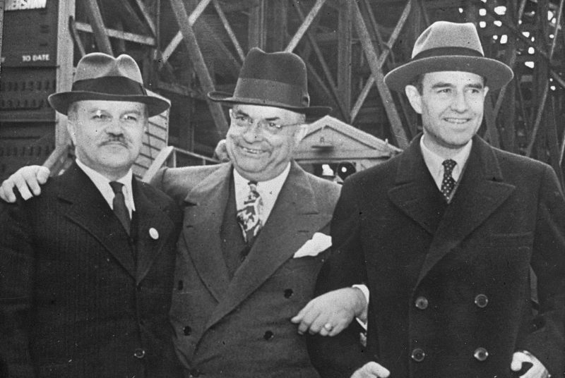 Молотов, Гарриман, Датаум. Сентябрь 1946 г.