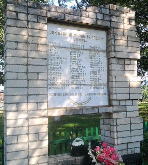 ст-ца. Шапсугская, Абинского р-на. Памятник землякам, не вернувшимся с войны.