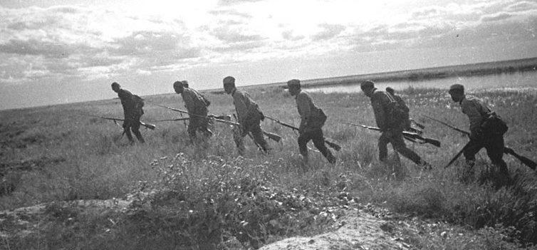 Наступление Красной Армии. 1939 г.