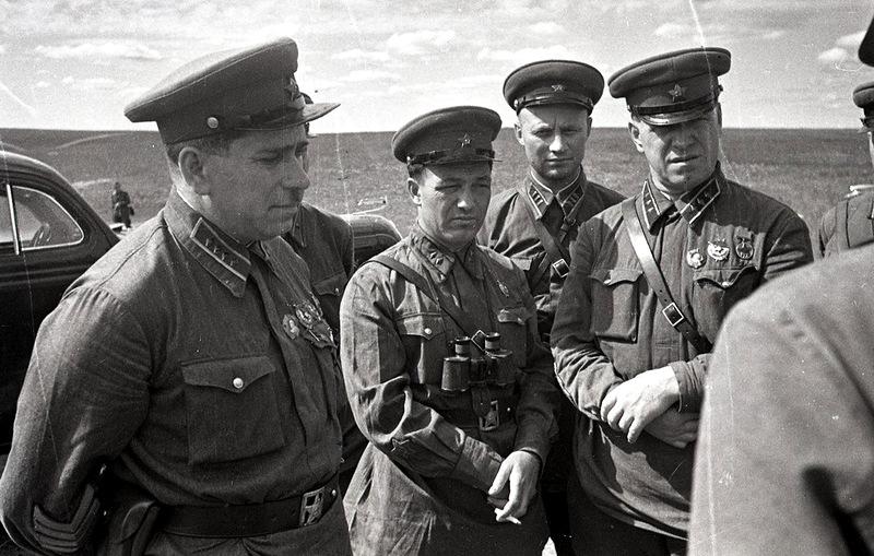 Штерн и Жуков. 1939 г.