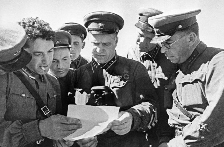 Жуков среди командиров РККА. 1939 г.
