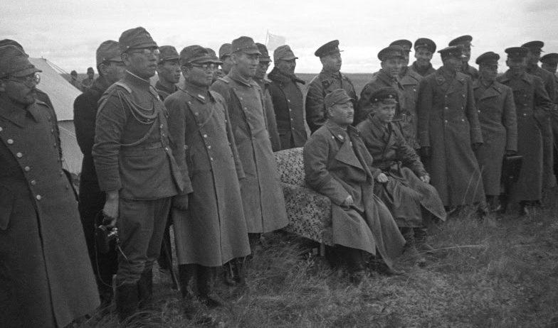 Переговоры о перемирии с Японией. Сентябрь 1939 г.