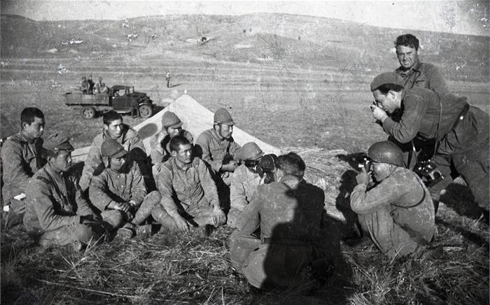 Пленные японские солдаты. 1939 г.