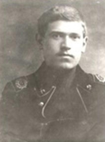 Воробьев – студент горного института. 1916 г.