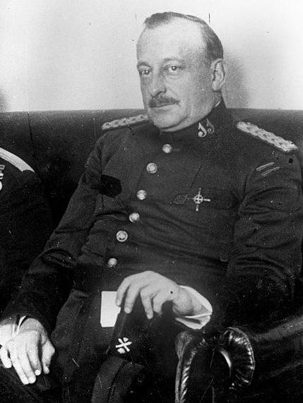 Генерал Мигель Примо де Ривера.