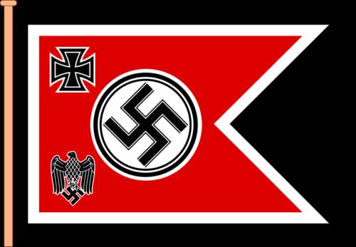 Флаг руководителя Верховного главнокомандования Вермахта (1938-1941 гг.).