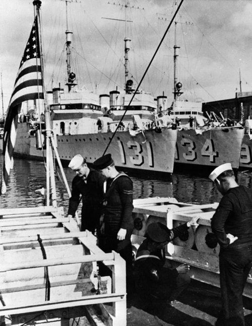 Американские эсминцы, проданные Великобритании в 1940 г.