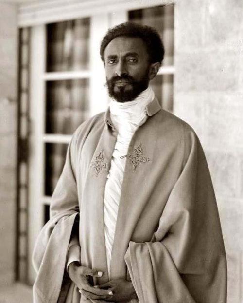 Хайле Селассие I - Император Эфиопии. 1936 г.