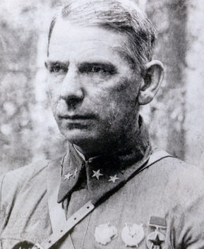 Генерал-майор Гаген. 1941 г.