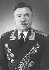 Генерал-лейтенант Данилов. 1968 г.