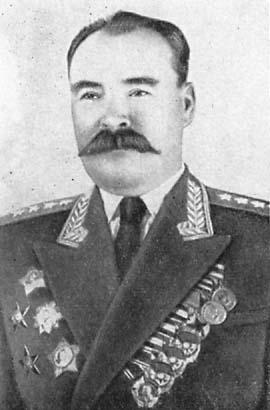 Генерал армии Казаков. 1955 г.