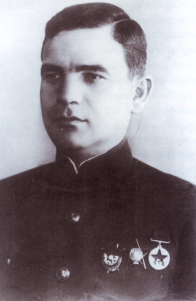 Вице-адмирал Левченко. 1940 г.