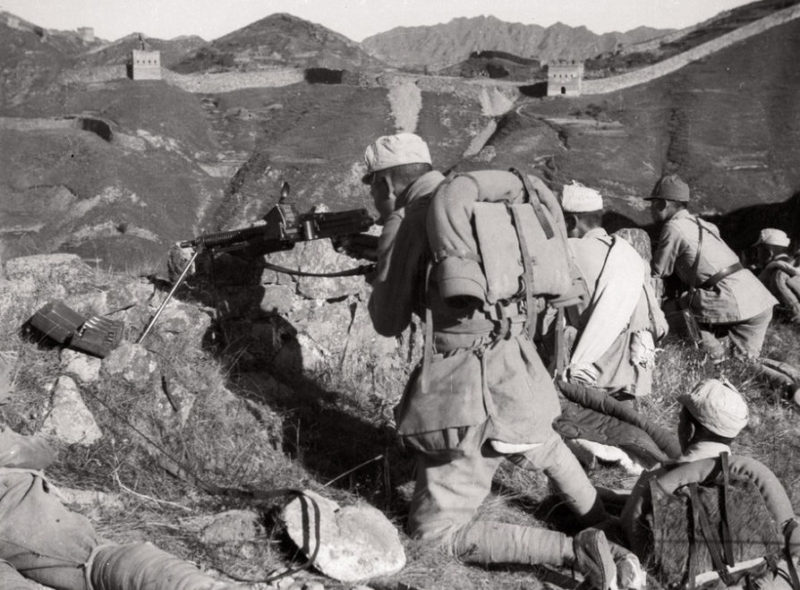 Битва у Великой Китайской Стены.
