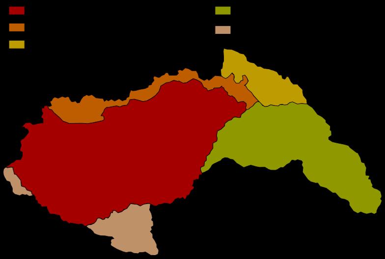 Территориальные приобретения Венгрии в 1939-1941 годах.