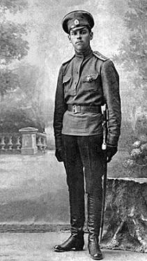 Штабс-капитан Василевский. 1917 г.