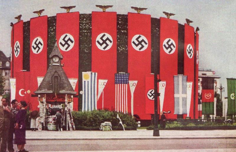 «Олимпийский» Берлин. 1936 г.