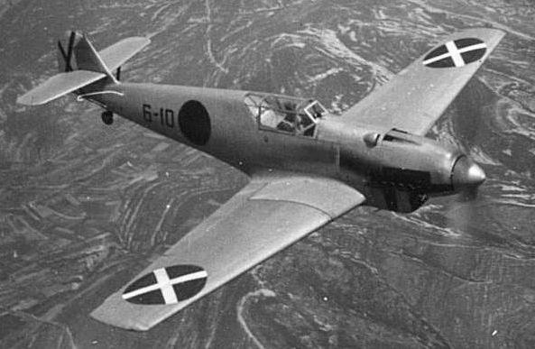 Истребитель «Bf -109A» Легиона «Кондор».