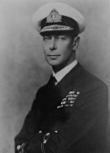 Английский король Георг VI. 1942 г.