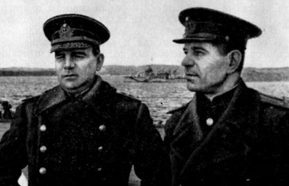 Левченко Г.И. и Фокин В.А. 1943 г.