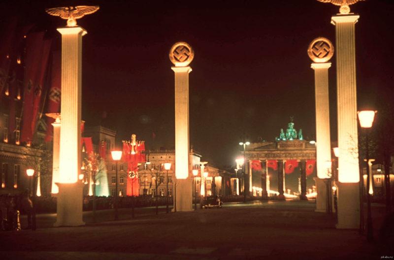 Брандербурские ворота. 1939 г.
