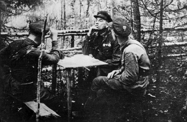 На Волховском фронте. Осень 1941 г.