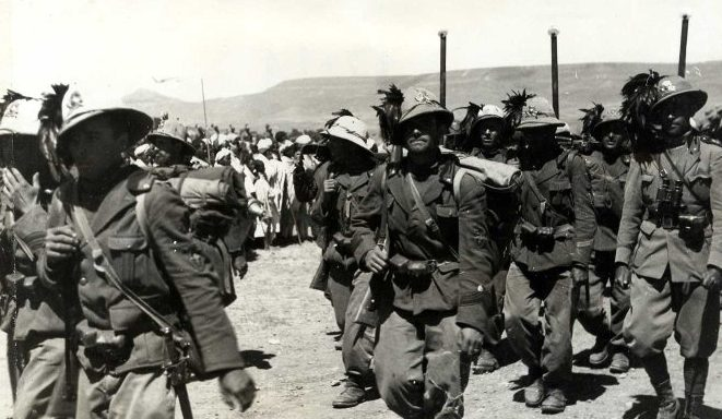Итальянские колониальные войска в Восточной Африке.