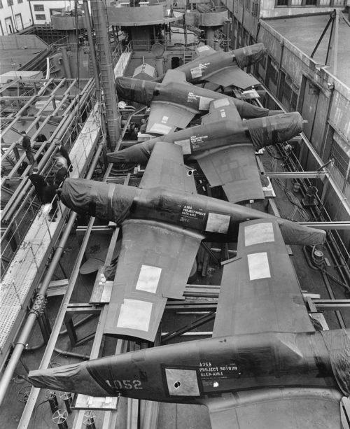 Американские самолеты на пути в Англию. 1941 г.