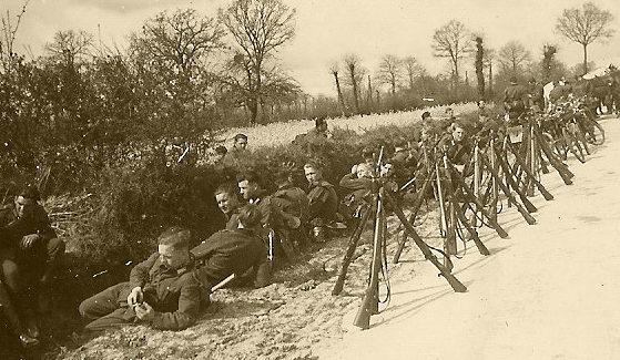 Тренировочный лагерь Вермахта.