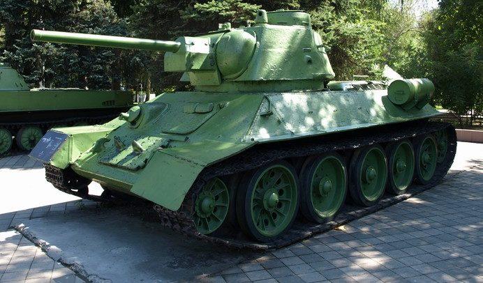 Танк Т-34-76.