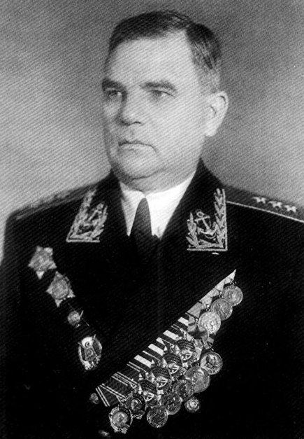 Адмирал Левченко. 1960 г.