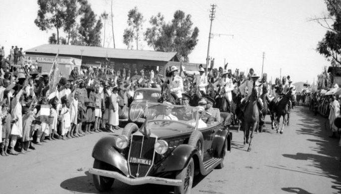 Визит Муссолини в Восточную Африку. 1937 г.