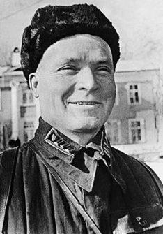 Комбриг Лелюшенко. 1940 г.