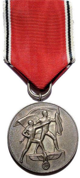 Медаль «В память 13 марта 1938 года».